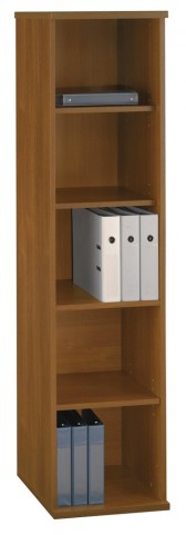 Series C Warm Oak 18 Inch 5-Shelf Bookcase
