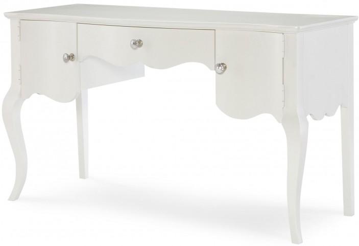 Tiffany Pearlized White Desk