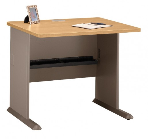 Series A Light Oak 36 Inch Desk