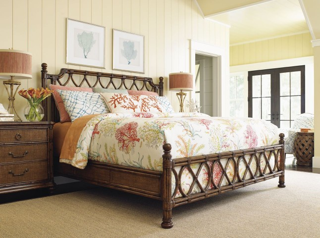 Bali Hai Island Breeze Panel Bedroom Set