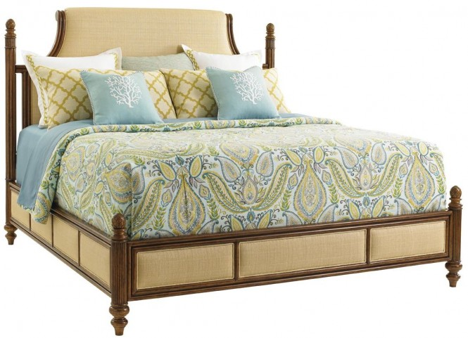 Bali Hai Orchid Bay Queen Panel Bed