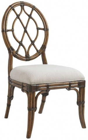 Bali Hai Cedar Key Oval Back Side Chair