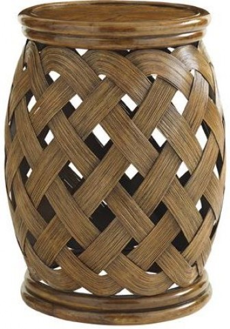Bali Hai Hibiscus Round Accent Table