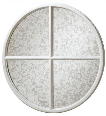 Dogwood Blossom Round Mirror