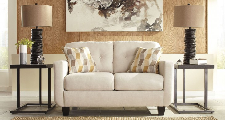 Drasco Marble Loveseat