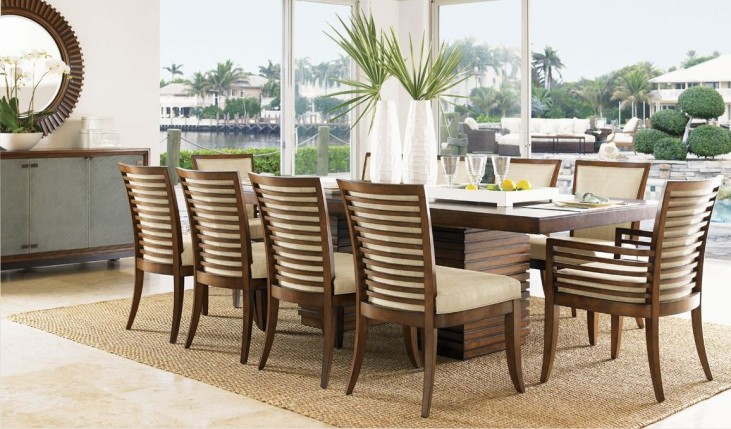 Ocean Club Peninsula Dining Room Set
