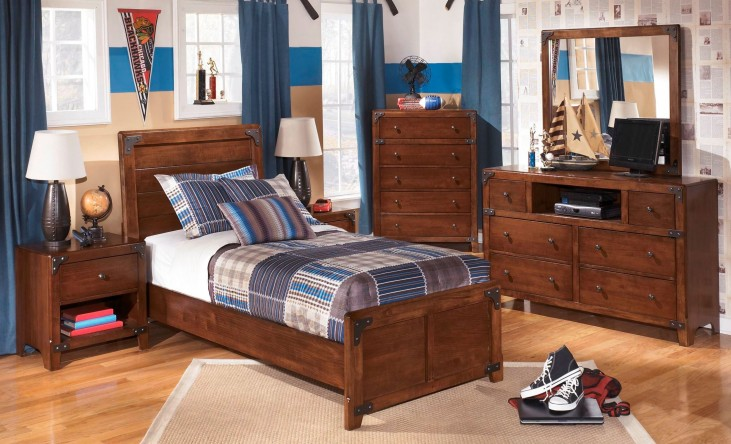 Delburne Youth Panel Bedroom Set