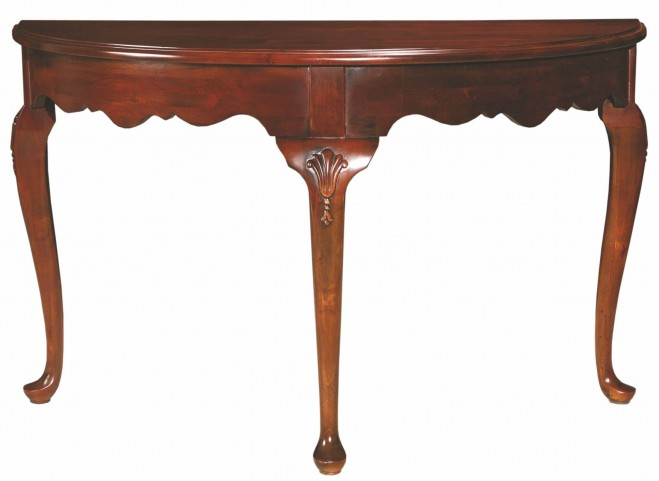 Carriage House Demi Lune Console Table