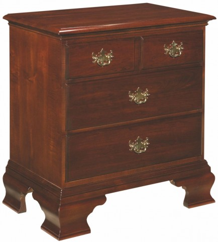 Carriage House 3 Drawer Nightstand