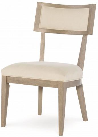 High Line Greige Klismo Side Chair Set of 2