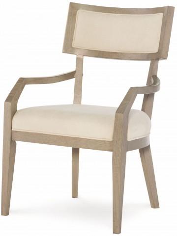 High Line Greige Klismo Arm Chair Set of 2