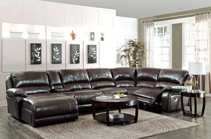 Mackenzie Brown 6Pc Sectional Set