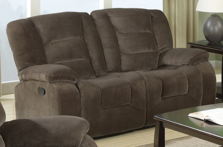 Charlie Brown Sage Reclining Loveseat