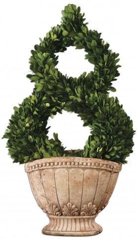 Estate Trellis Preserved Boxwood