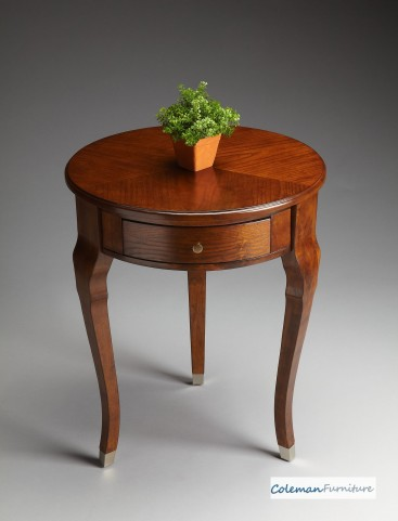 Chestnut Burl Side Table
