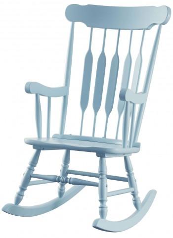 Blue Rocker Chair