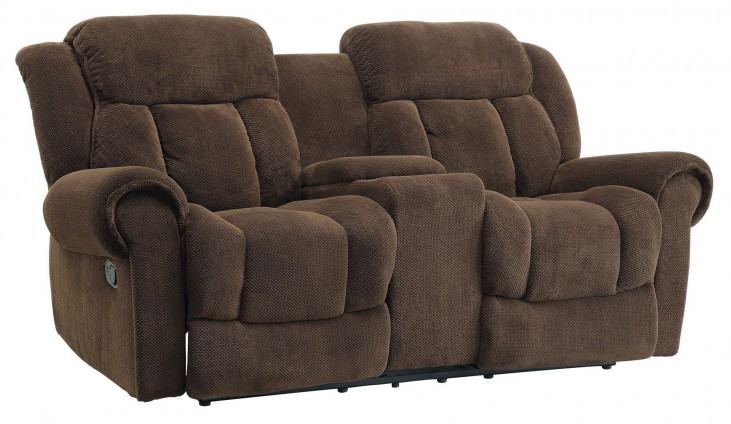 Reige Motion Taupe Reclining Loveseat