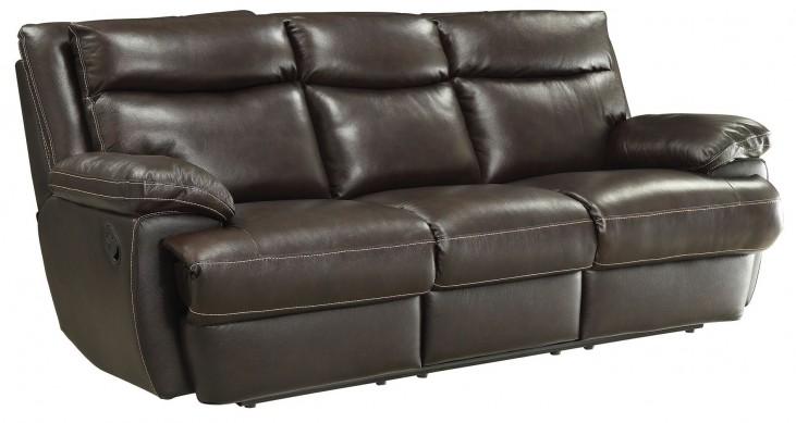 Macpherson Cocoa Bean Reclining Sofa