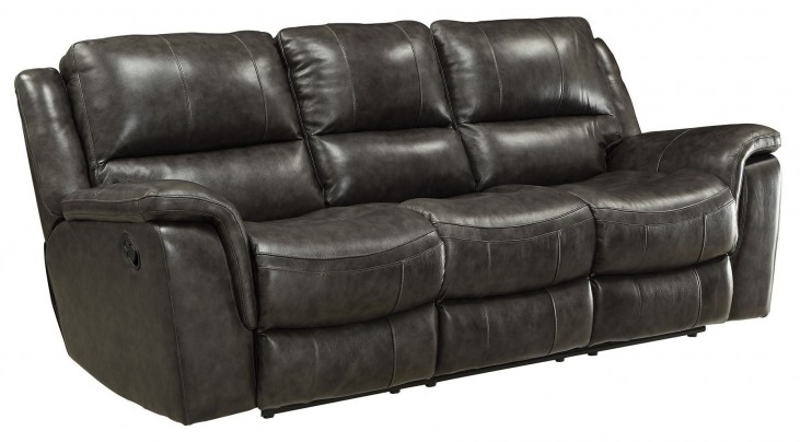 Wingfield Charcoal Reclining Sofa