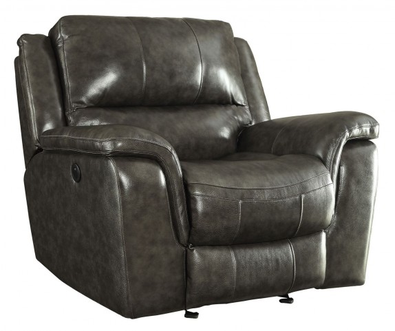 Wingfield Charcoal Power Recliner