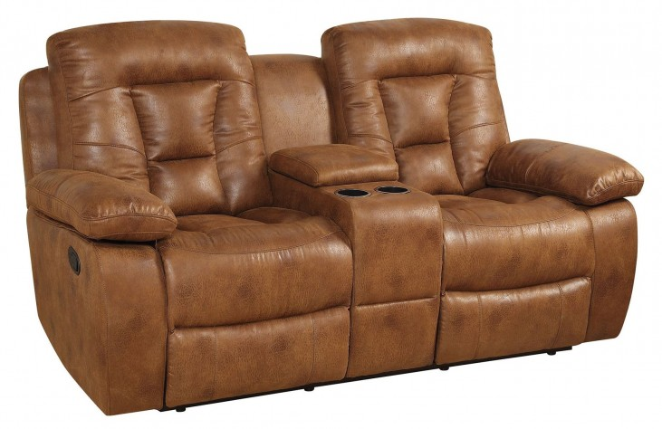 Evensky Saddle Reclining Loveseat