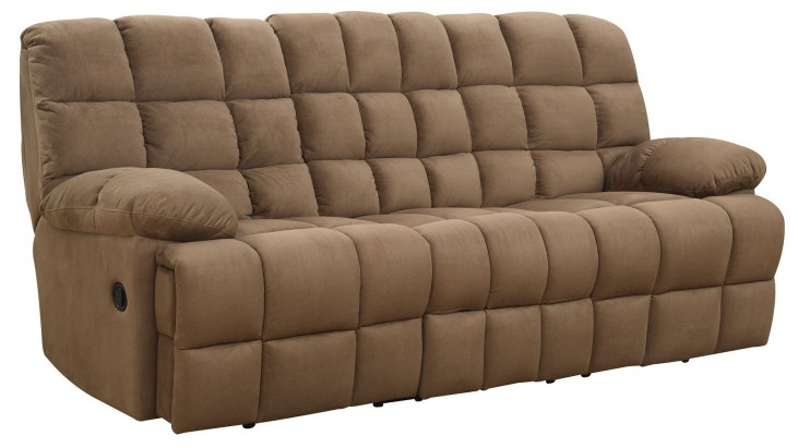Pickett Mocha Reclining Sofa