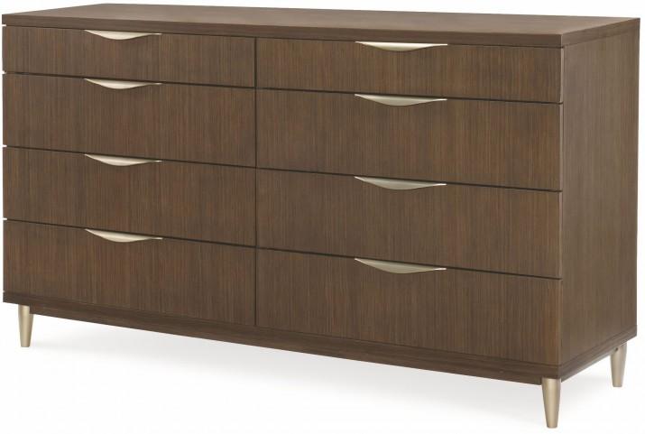 Soho Ash 8 Drawer Dresser