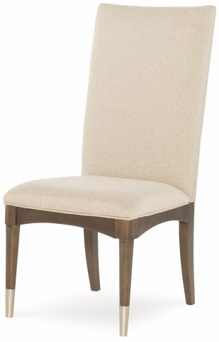 Soho Ash Upholstered Back Side Chair Set of 2