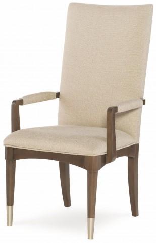Soho Ash Upholstered Back Arm Chair Set of 2