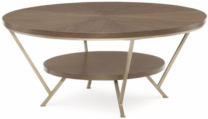 Soho Ash Round Cocktail Table