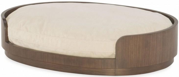Soho Ash Dog Bed with Reversible Cushion