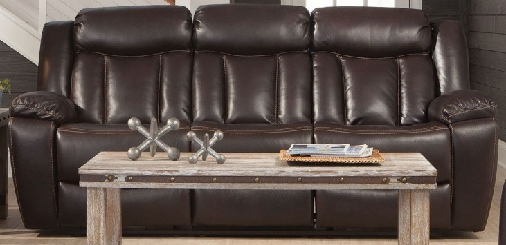 Bevington Chocolate Reclining Sofa