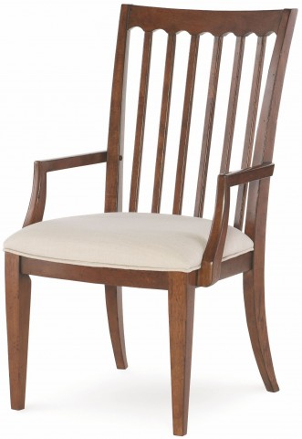 Upstate Conciare Slat Back Arm Chair Set of 2