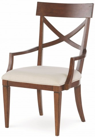 Upstate Conciare X-Back Arm Chair Set of 2