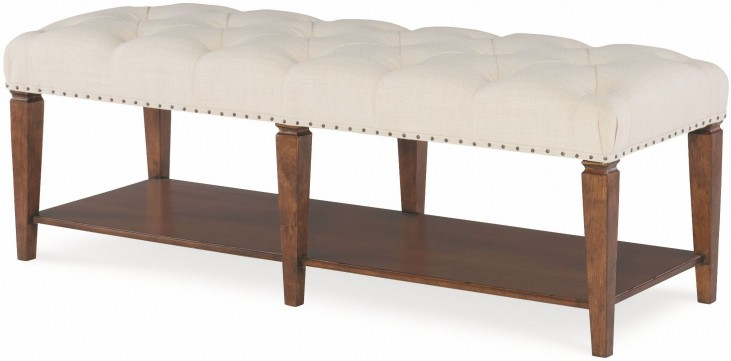 Upstate Conciare Upholstered Bench