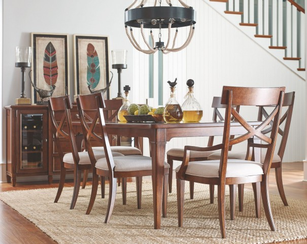 Upstate Conciare Extendable Leg Dining Room Set