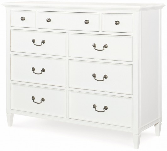 Upstate Bianco 9 Drawer Media Chest