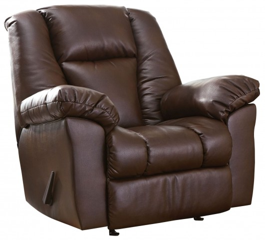 Knoxton Chocolate Rocker Recliner