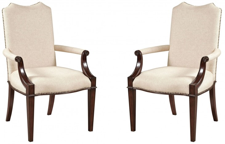 Hadleigh Upholstered Arm Chair Set of 2