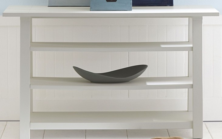 Summer House Oyster White Sofa Table