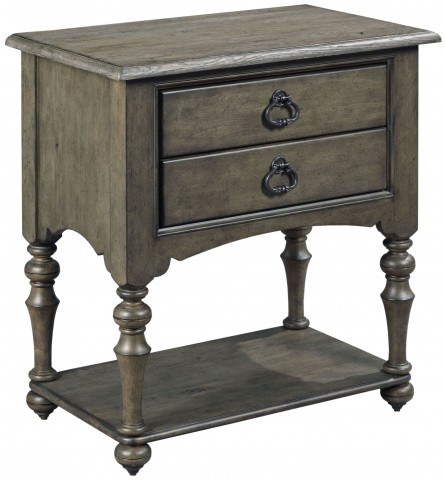 Greyson Tyler 2 Drawer Open Nightstand