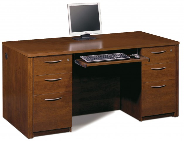 Embassy Tuscany Brown Executive Desk