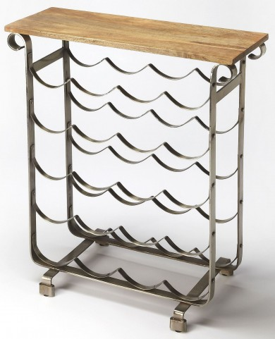 Landry Industrial Chic Wine Rack