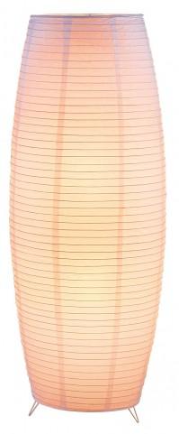 Suki White Floor Lantern
