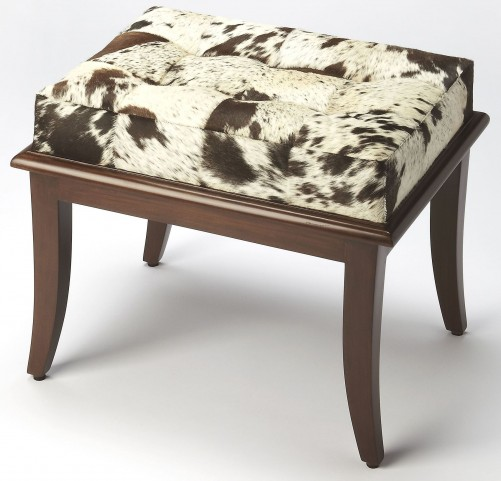 Dania Hair-On-Hide Stool