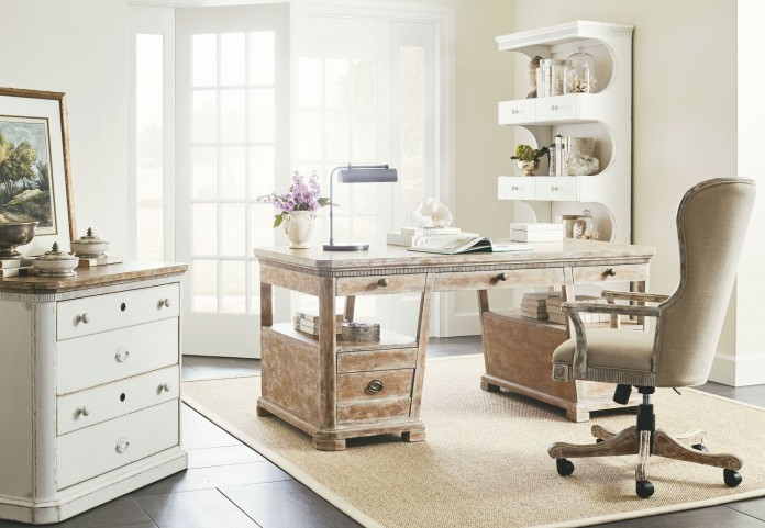 Juniper Dell English Clay Home Office Set