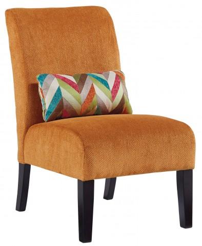 Annora Orange Accent Chair