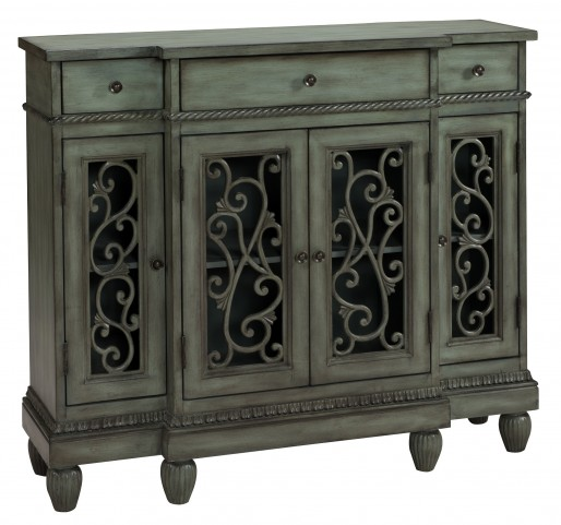 Three Drawer Four Door Credenza 61703