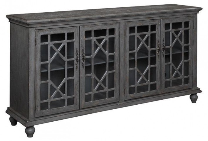 Four Door Media Credenza 61711