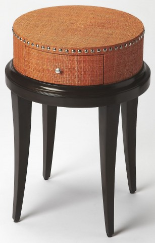 Hat Box Modern Accent Table